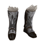 Steel Greaves of Crom