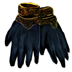 Gilded Gloves of Nightfall